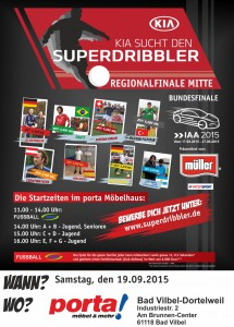 Kia sucht den Superdribbler in Bad Vilbel