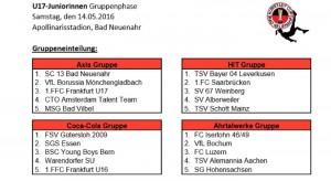 Turnier U16 Bad Neuenahr