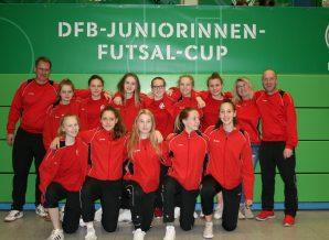 Foto C-Juniorinnen Deutsche Futsal Meisterschaft
